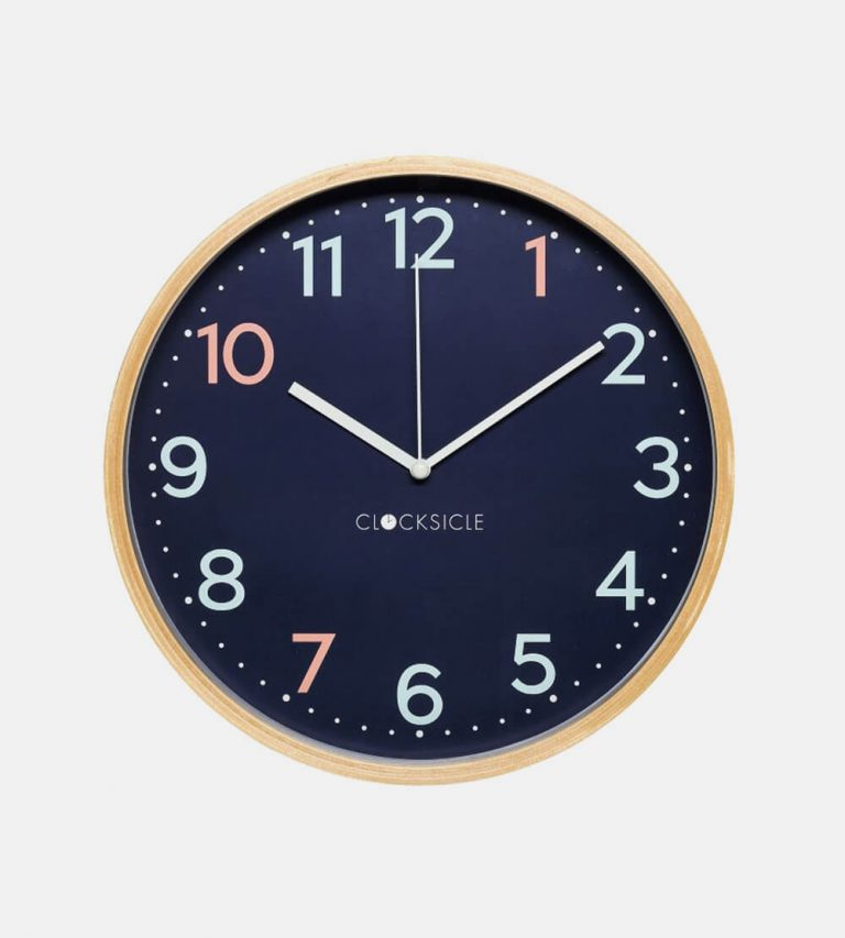 Sweep Metal Wall Clock