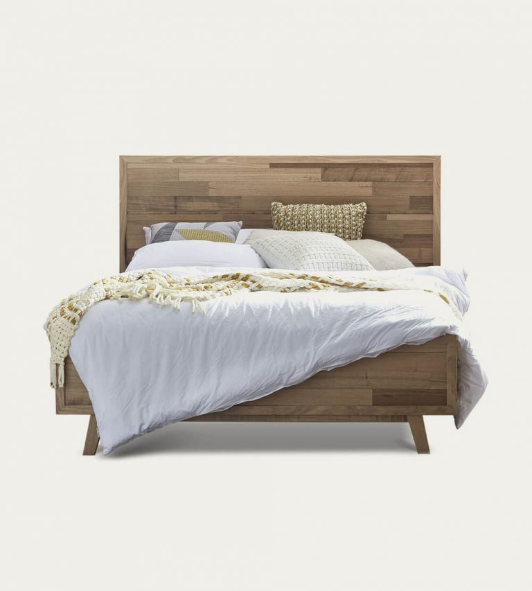 Queen Upholstered Platform Bed